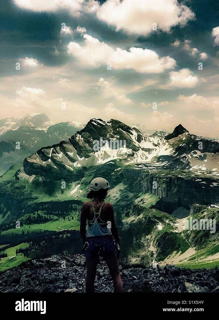 Alpes suisses Photo Stock