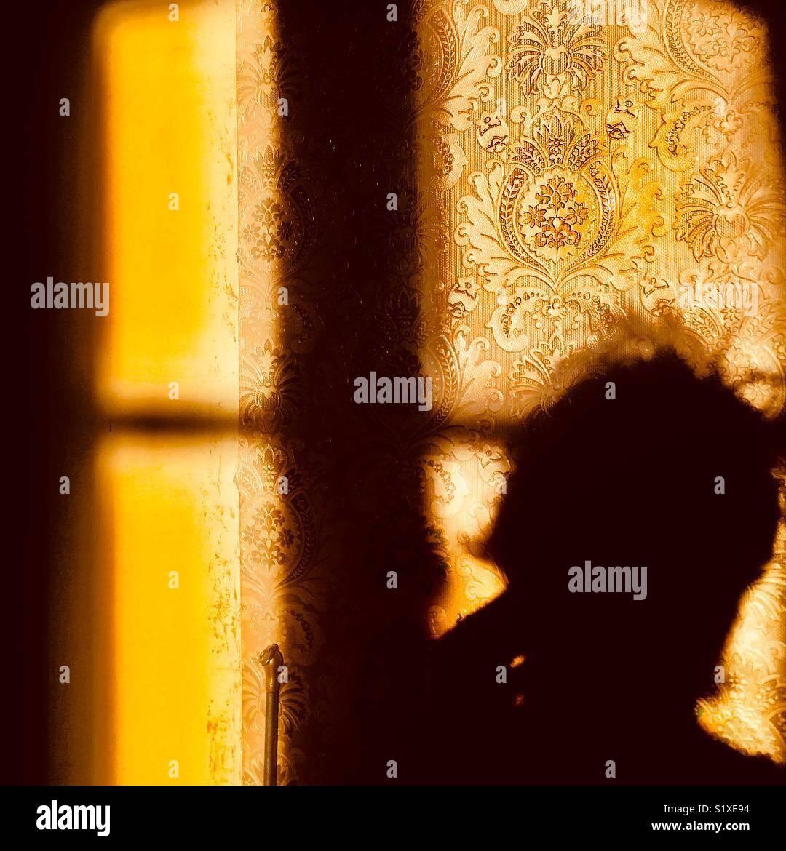 Sun est un peintre de talent Photo Stock