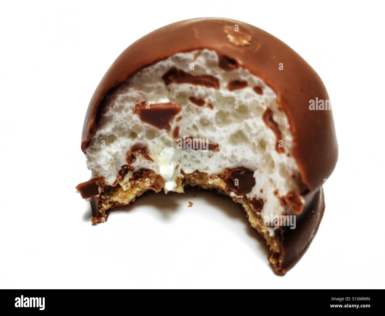 Plateau Marshmallow cake Photo Stock