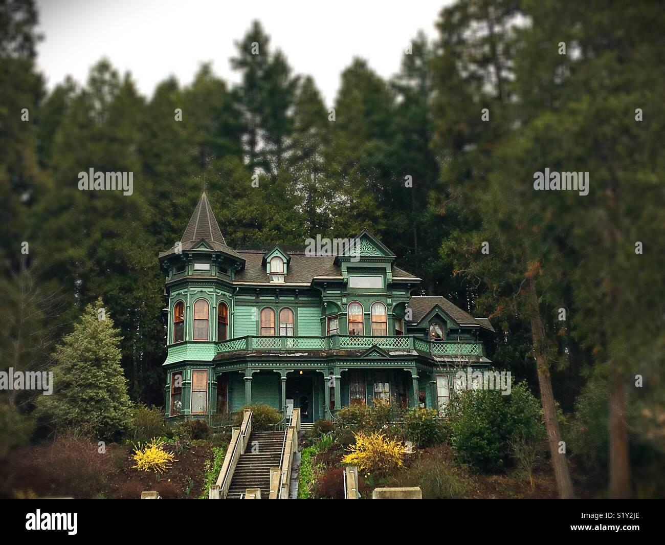 Shelton McMurphy Johnson House à Eugene, Oregon, USA. Photo Stock