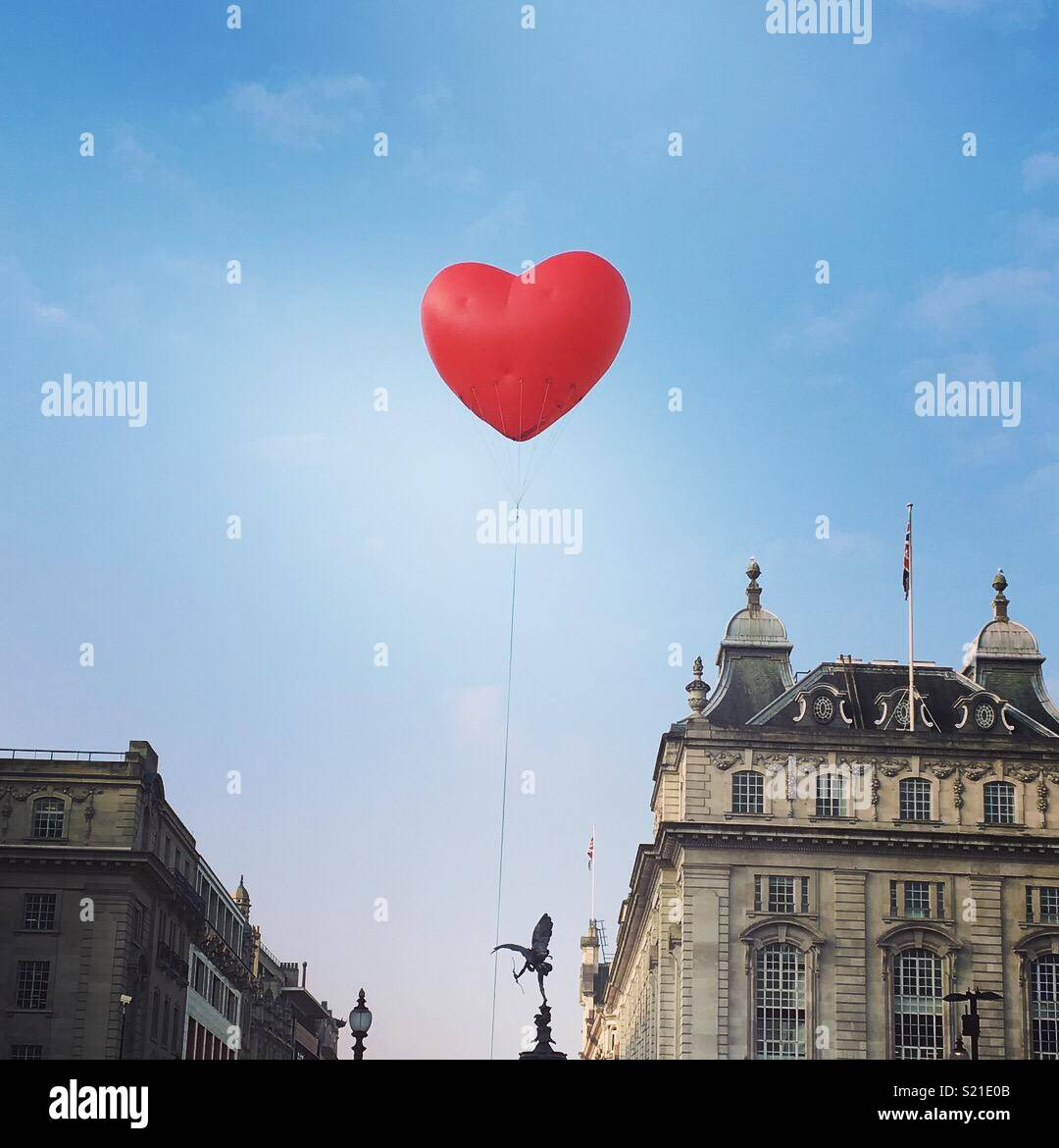 L'amour Londres Photo Stock