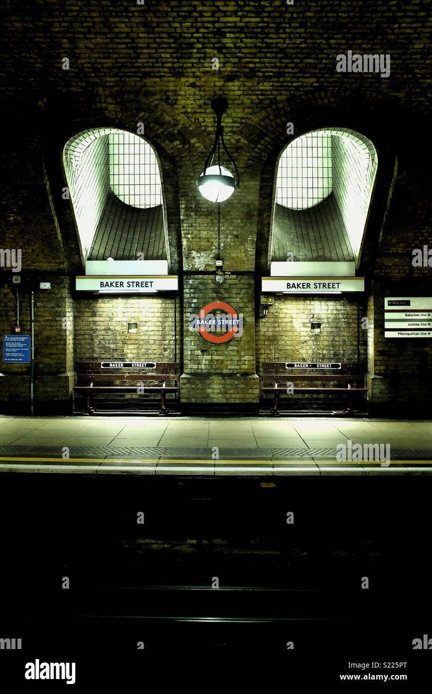Baker Street, Londres Photo Stock