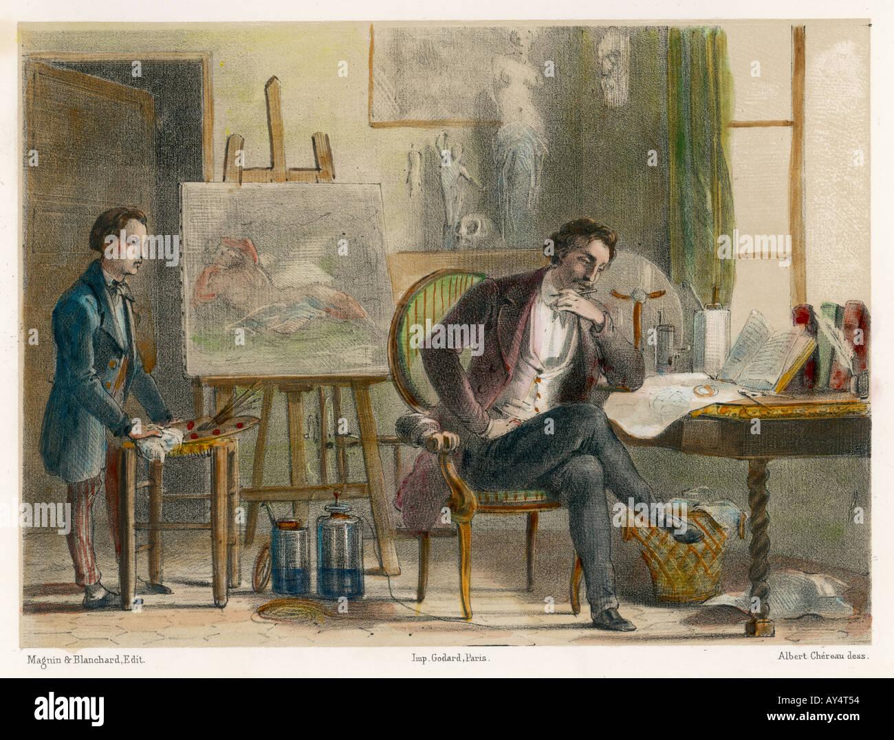 Samuel Morse Immagini Stock
