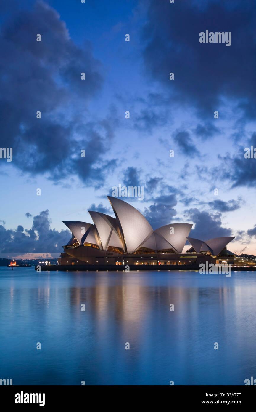 Australia, Nuovo Galles del Sud, Sydney Opera House di Sydney Immagini Stock