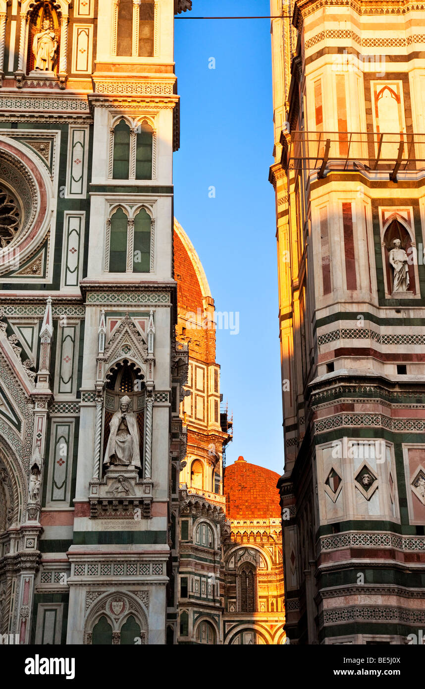 Serata al Duomo di Firenze Toscana Italia Immagini Stock