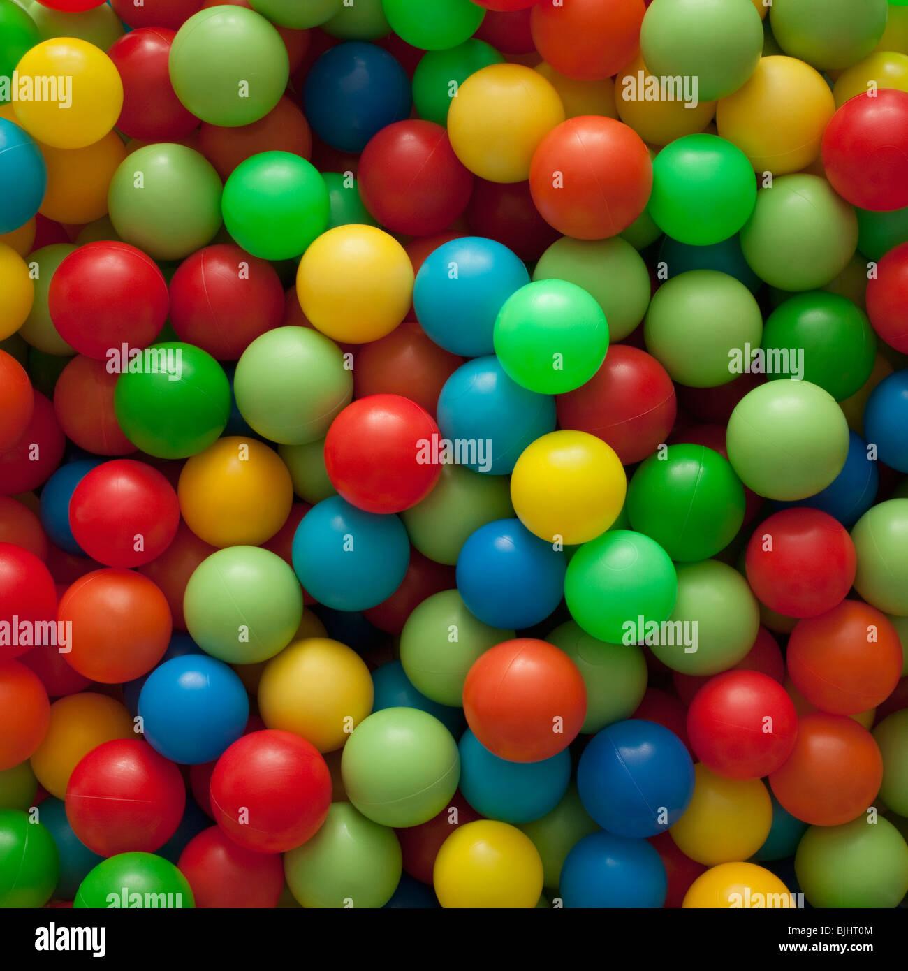 Palline colorate Immagini Stock