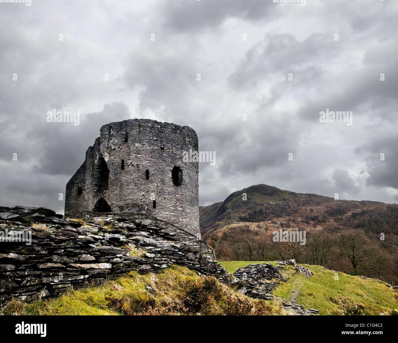 Dolbadarn Castle Immagini Stock