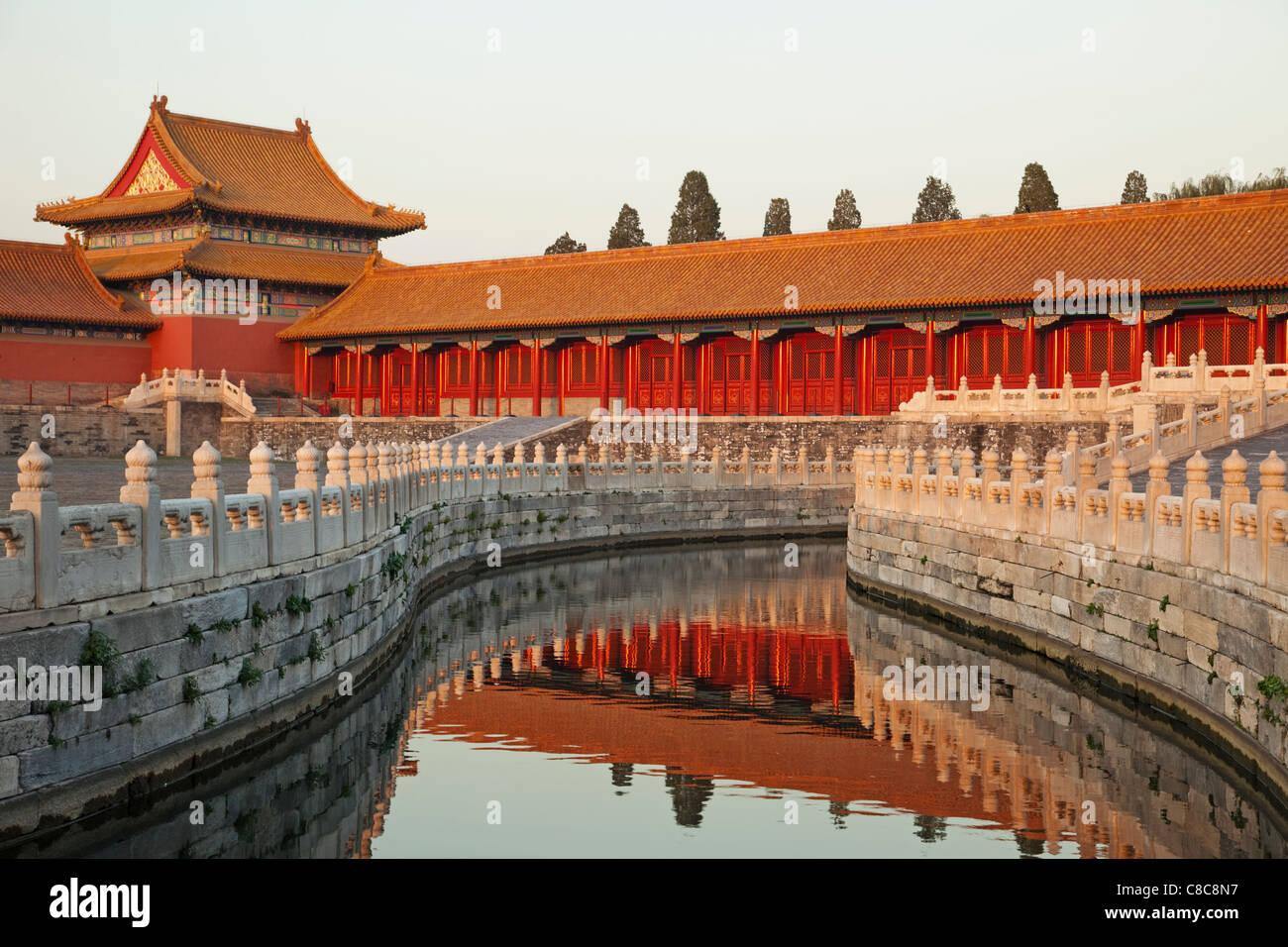 Cina, Pechino, Palace Museum o la Città Proibita Immagini Stock