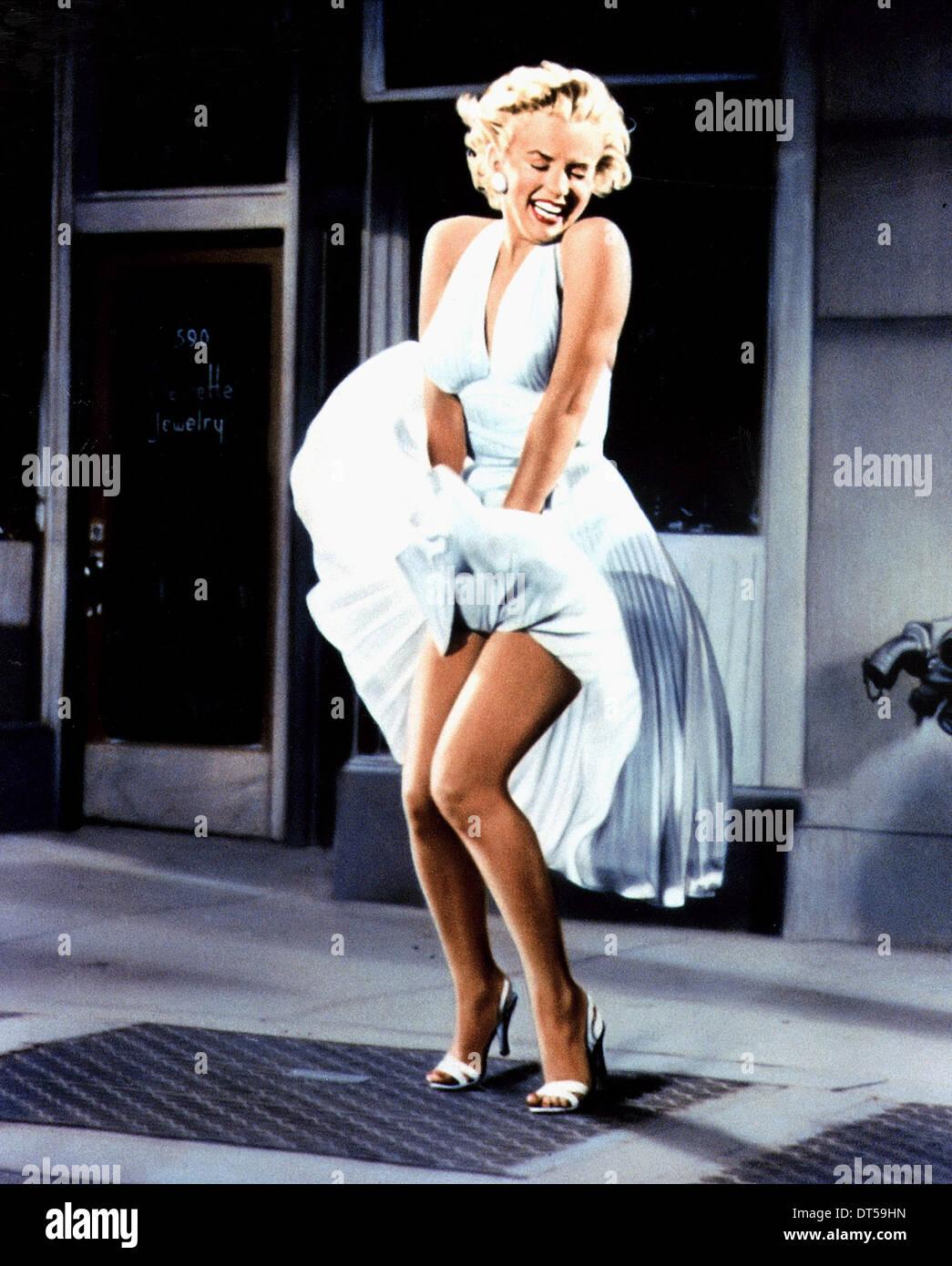 MARILYN MONROE DI SETTE ANNI prurito (1955) Immagini Stock