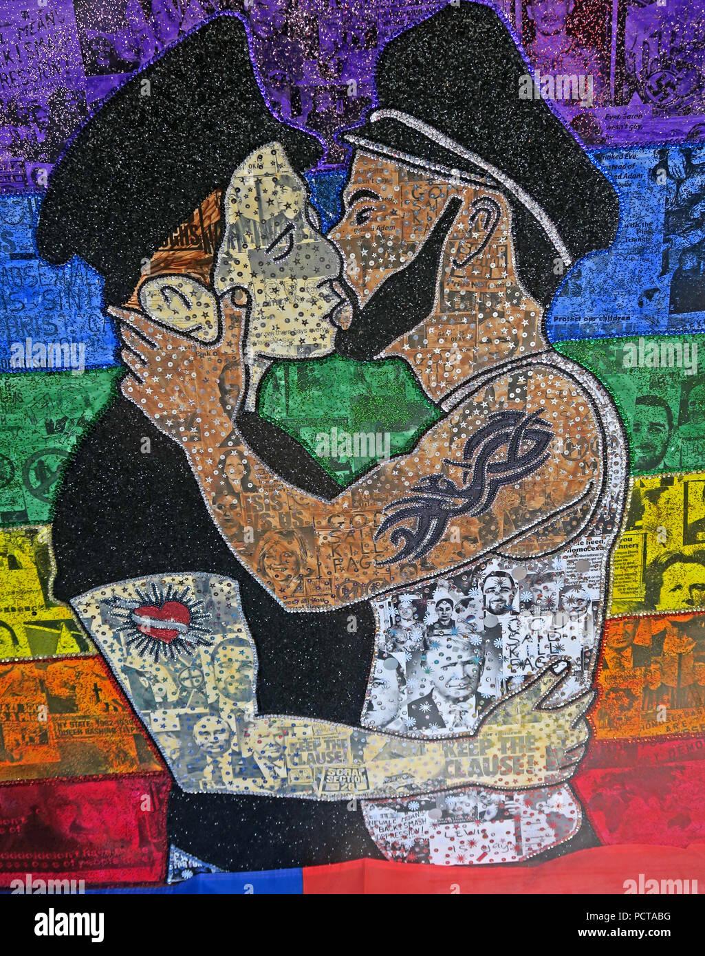 GoTonySmith,@HotpixUK,artist,artwork,rainbow,gay,gay