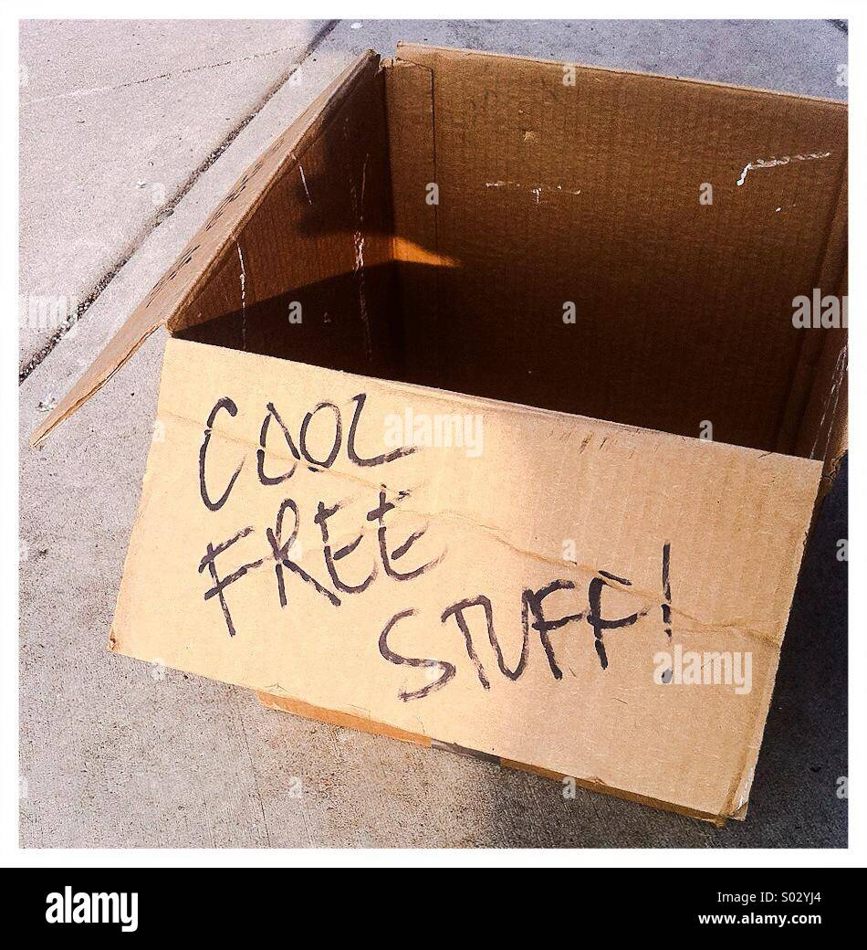Scatola di raffreddare roba libero Immagini Stock