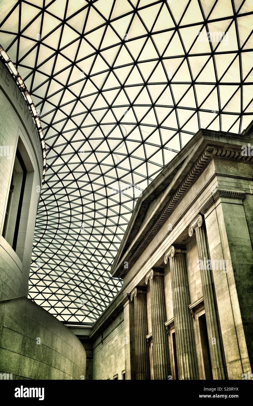 British Museum di Londra Immagini Stock
