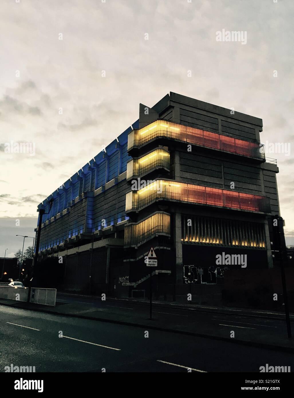 Sheffield Moore Street sottostazione Immagini Stock