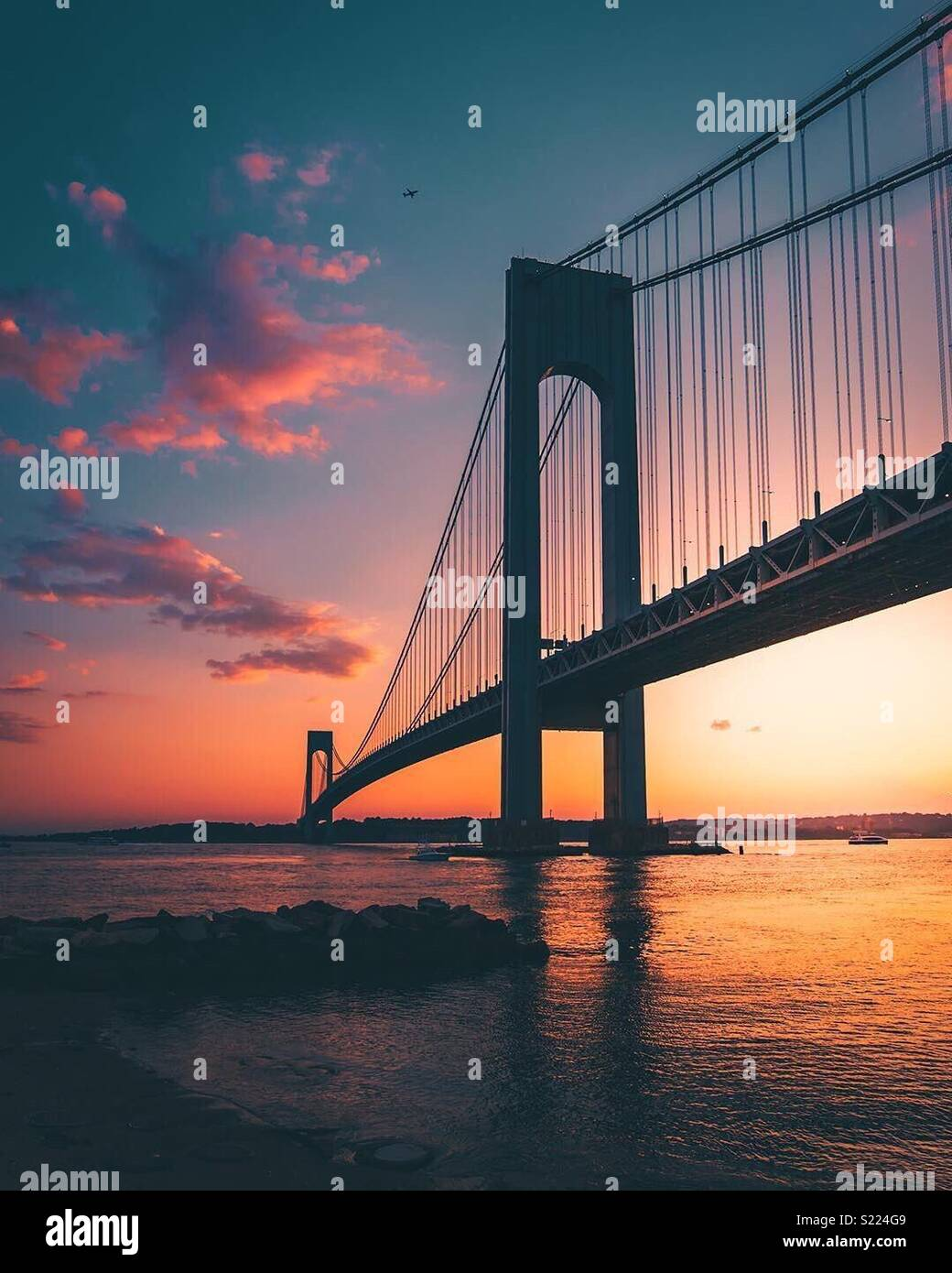 GoldenGate Bridge - SF California Immagini Stock