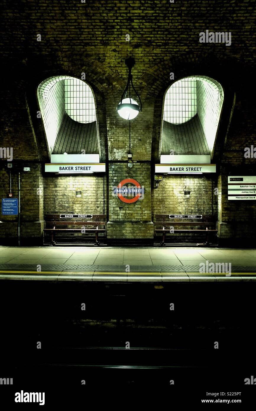 Baker Street, Londra Immagini Stock