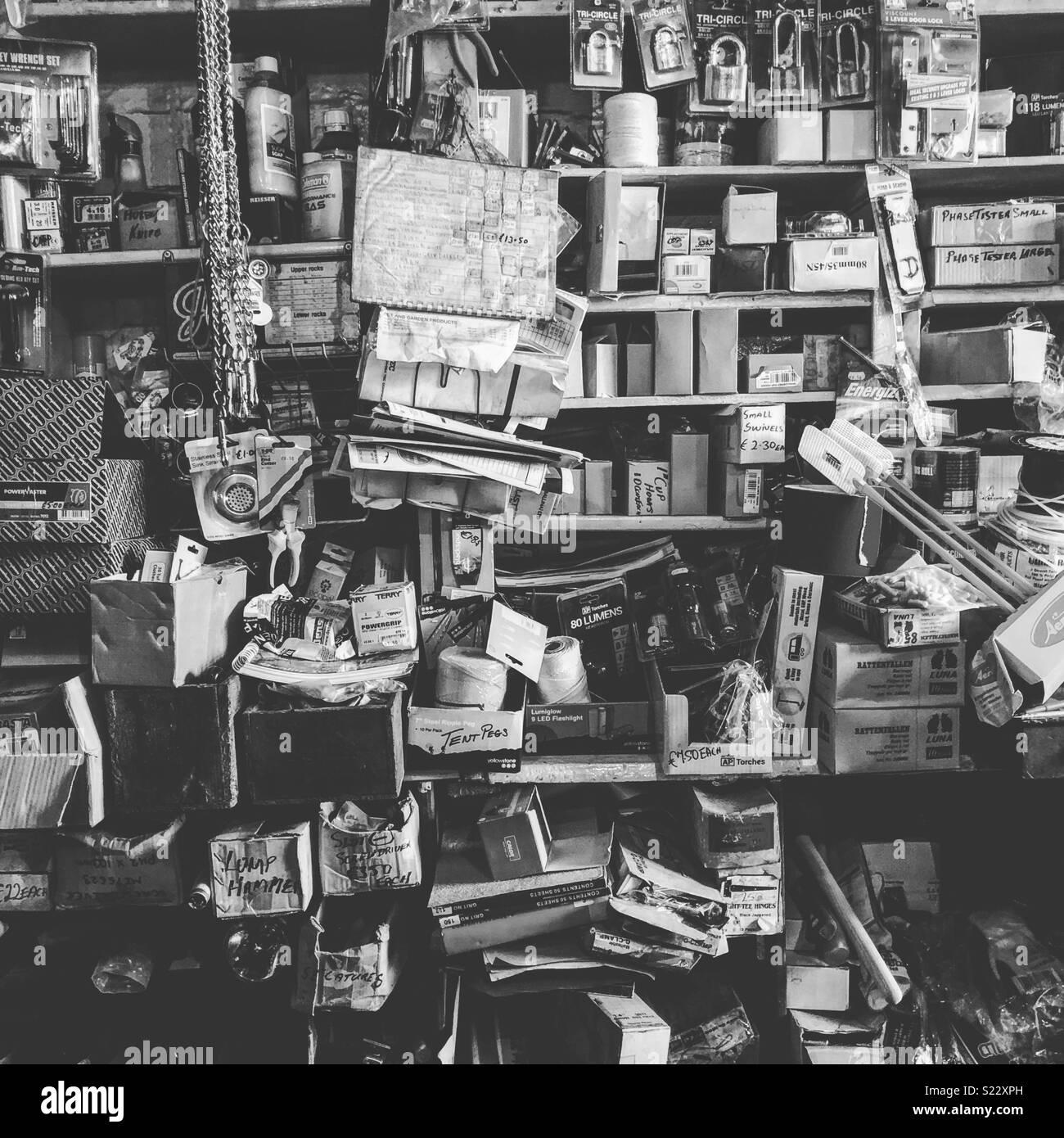 Negozio di posta indesiderata Immagini Stock