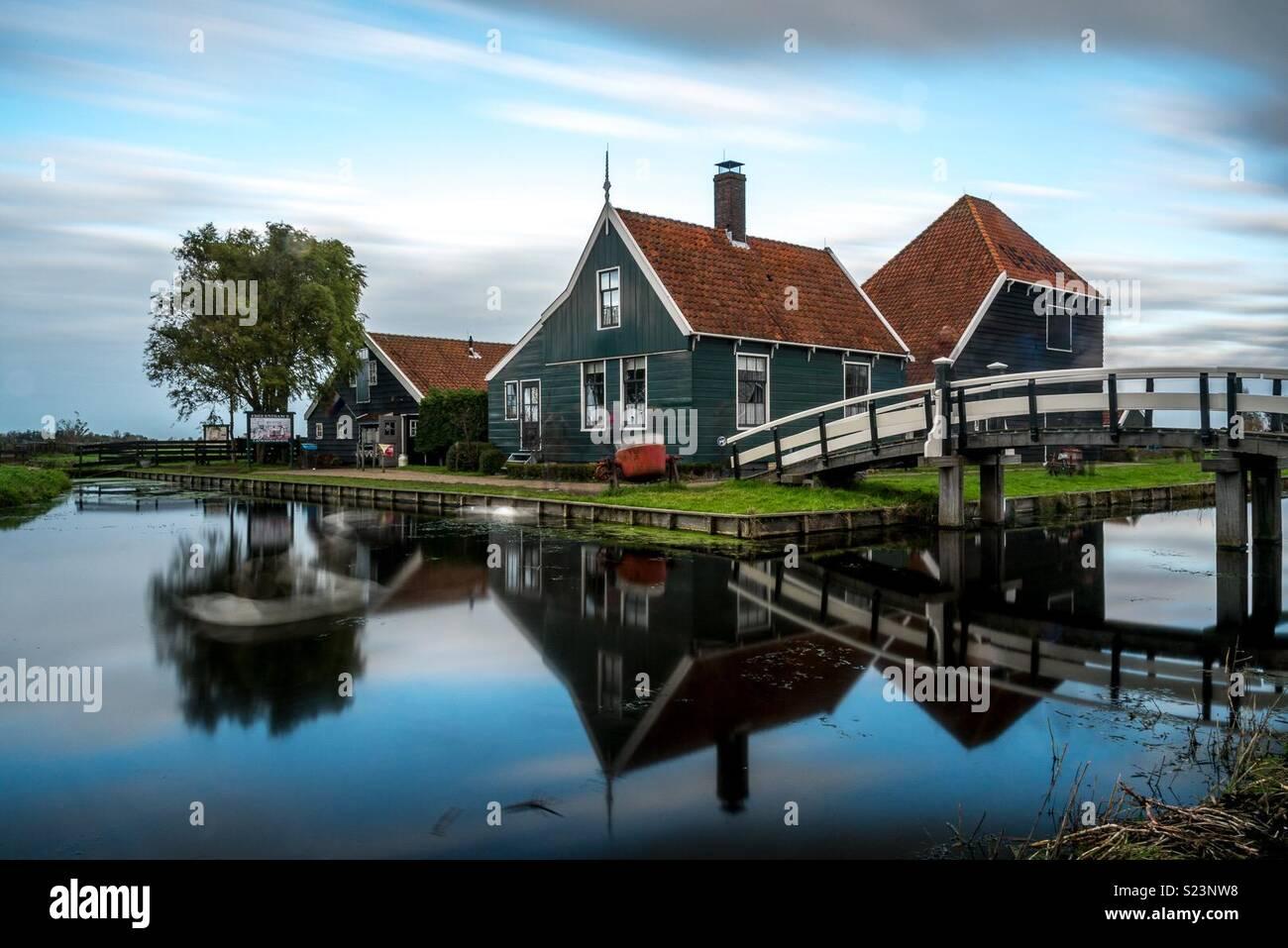 Negozio di formaggi, Zaanse Schans, Paesi Bassi Immagini Stock