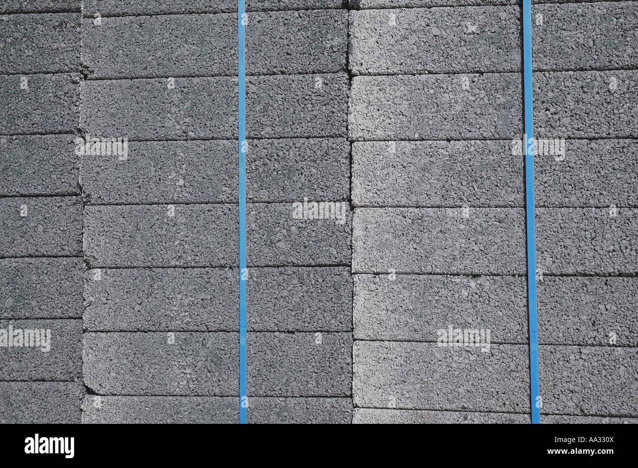 Blocos de concreto Imagens de Stock