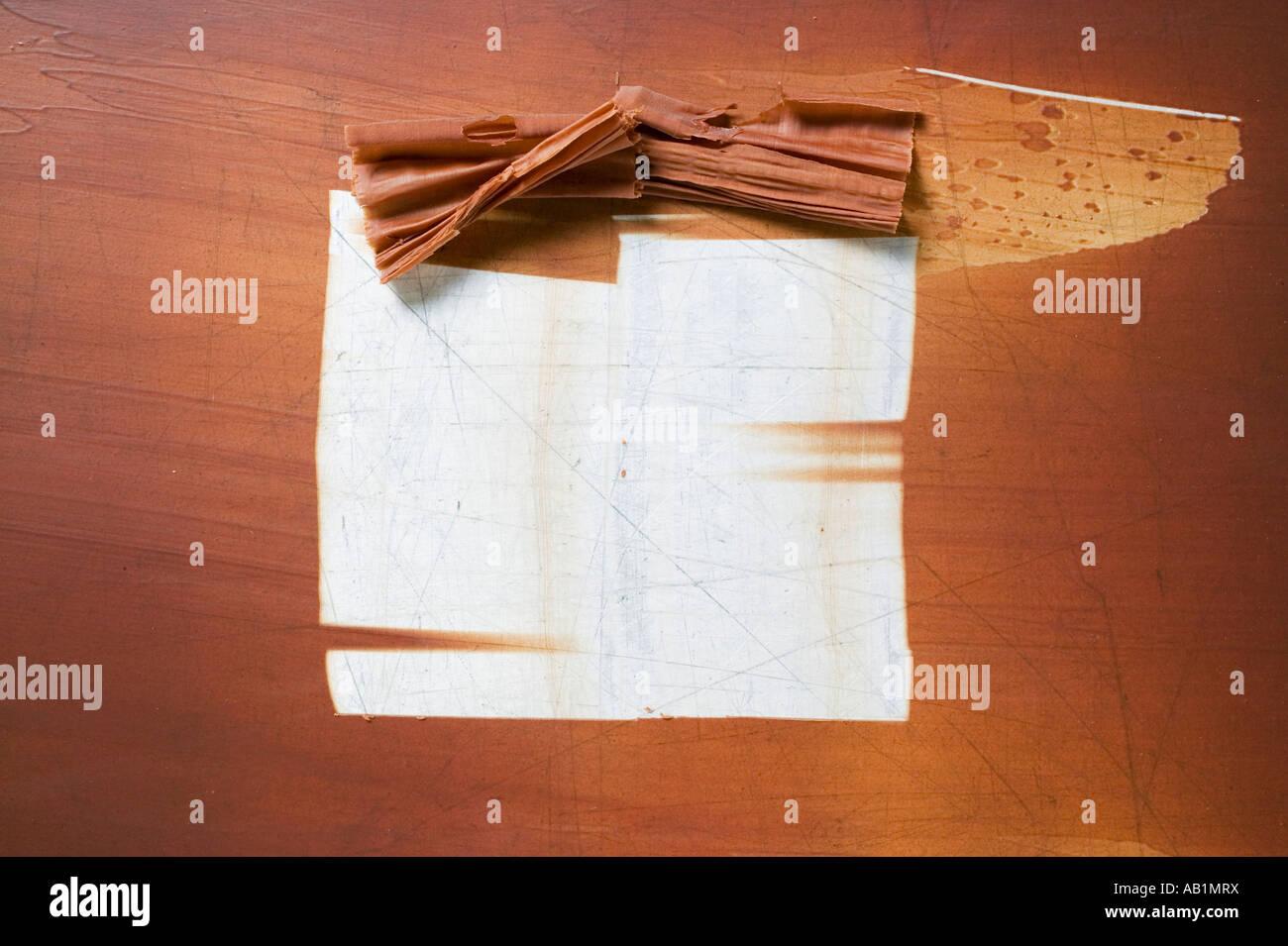 Fazer raspas de chocolate FoodCollection Imagens de Stock