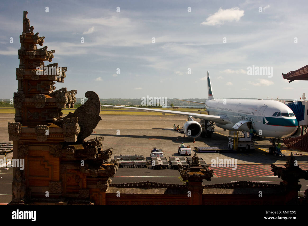 Aeroporto Bali : Garuda avião denpasar ou aeroporto internacional ngurah rai dps