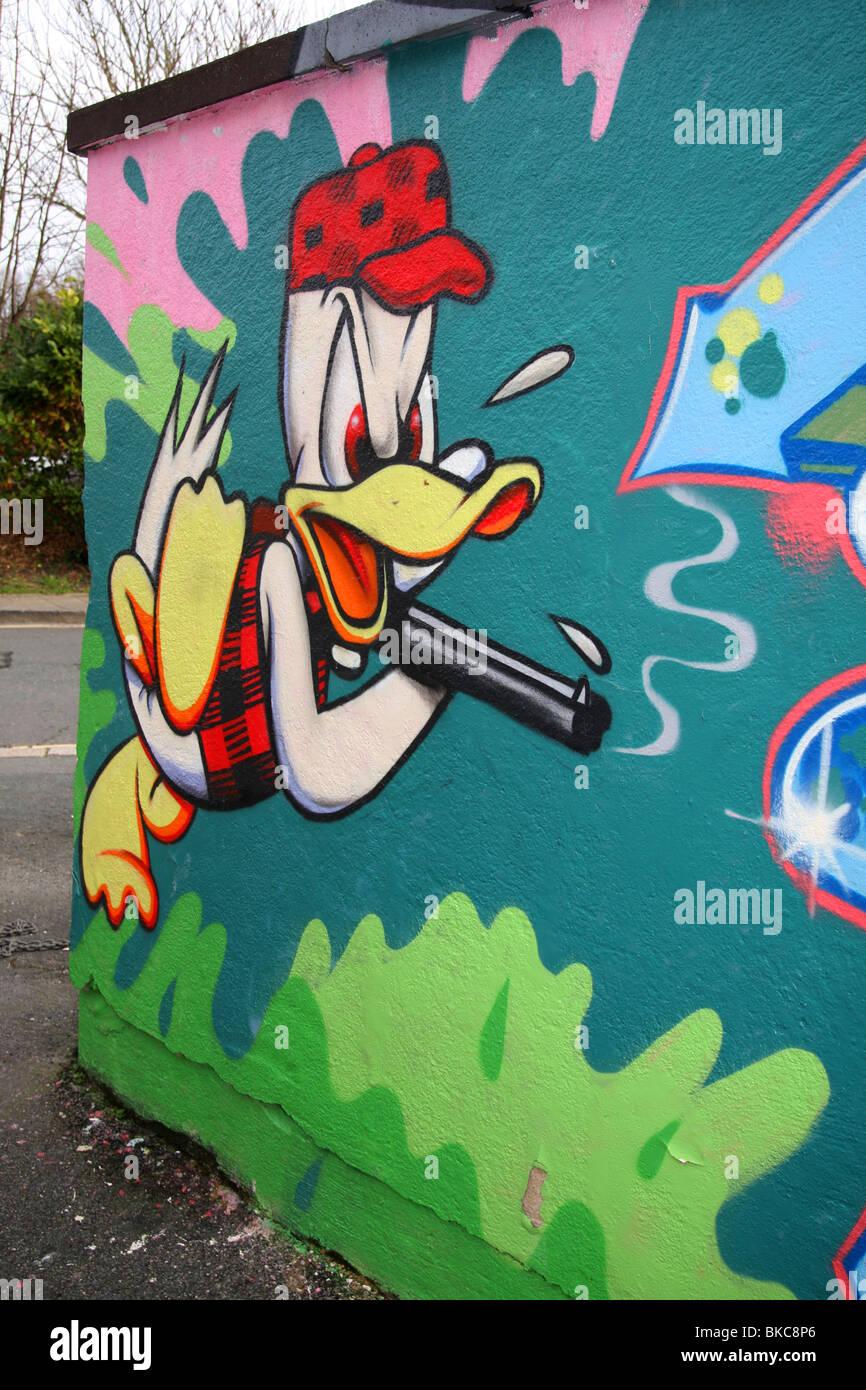 o pato donald é um personagem dos desenhos animados americana walt