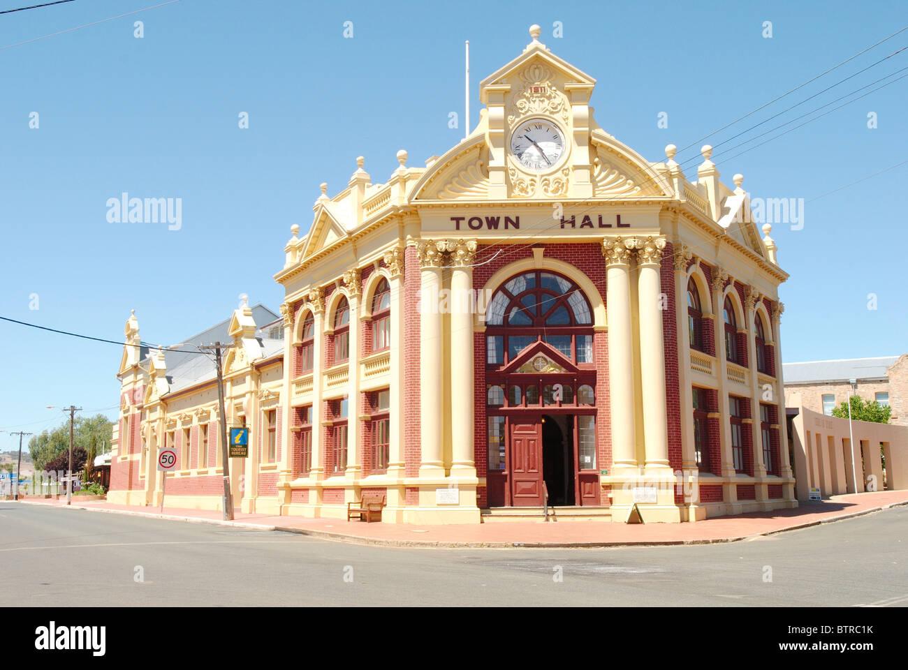 Austrália, Oceânia, Austrália Ocidental, York, Edifício Exterior Imagens de Stock