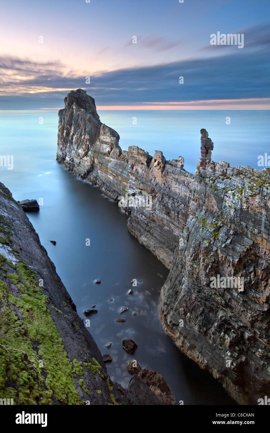 A bigorna -Tory Island, Co. Donegal Irlanda. Imagens de Stock