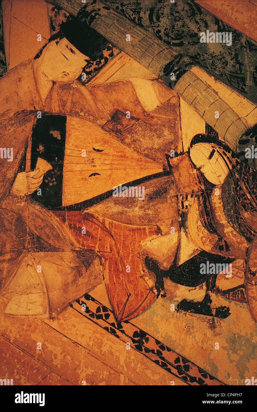 Museu de Arte de NAGOYA JAPÃO Tokugawa Imagens de Stock