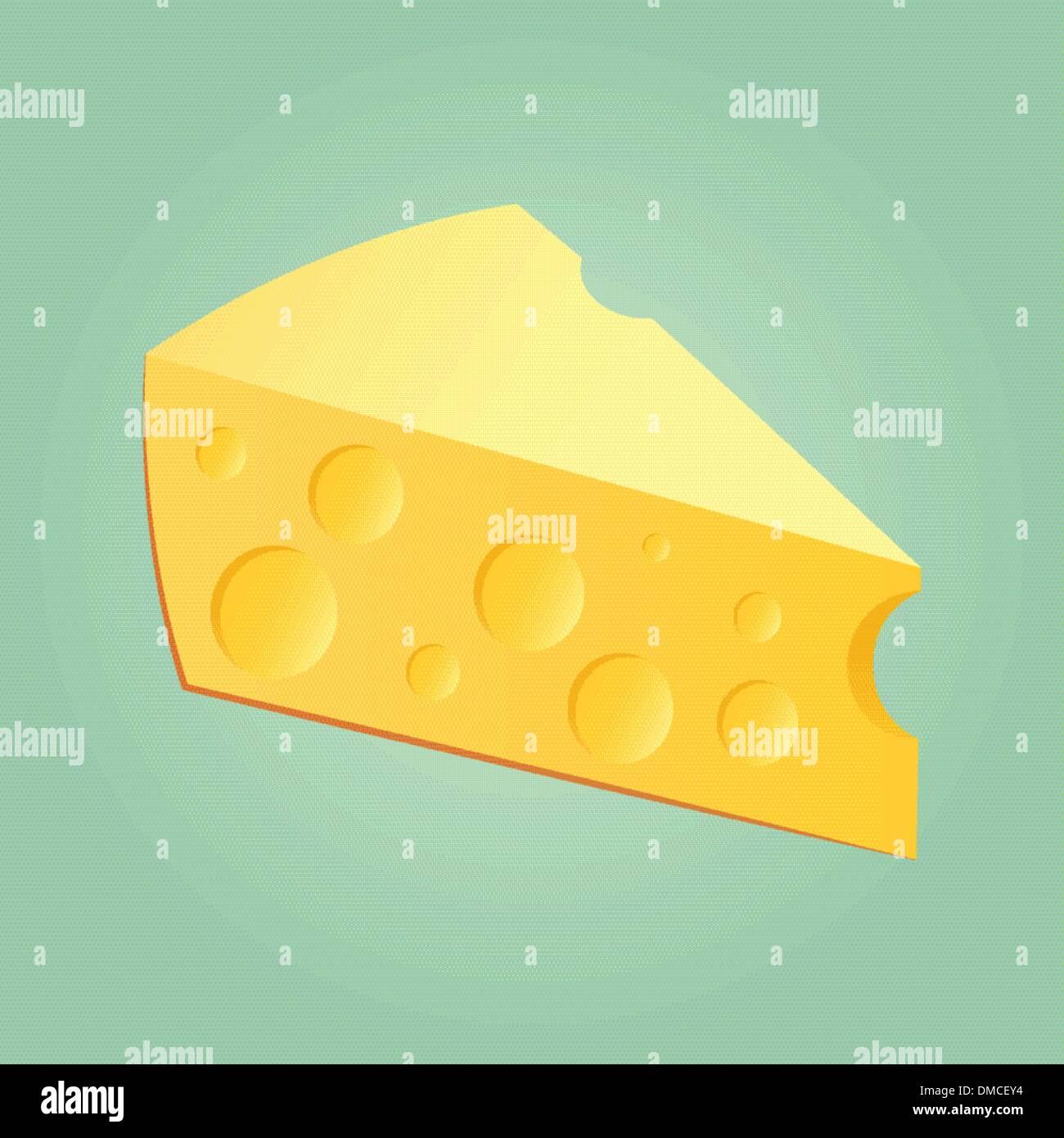 Laje de queijo Imagens de Stock