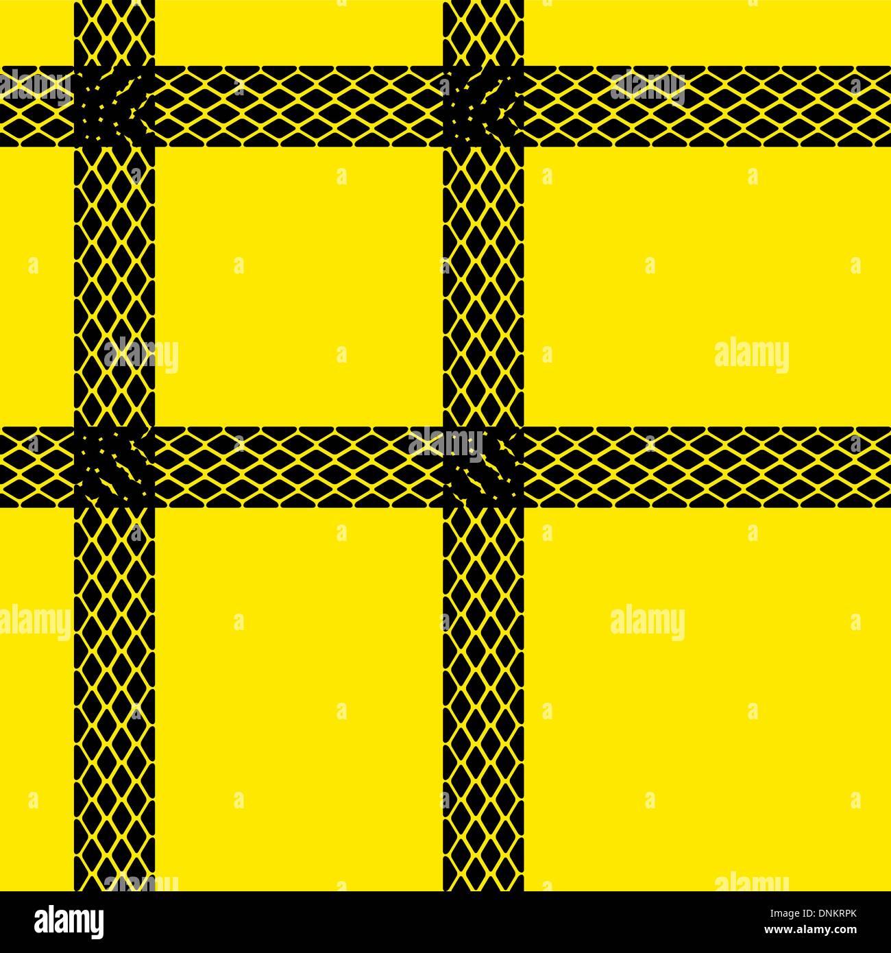 Papel de parede padrão de faixas de pneu perfeita ilustração de fundo de vetor Imagens de Stock