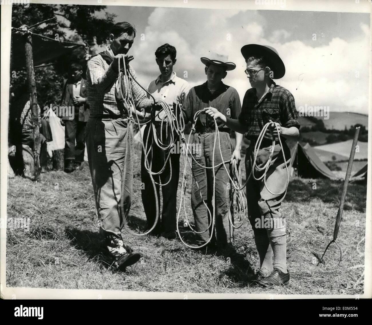 Real western cowboys