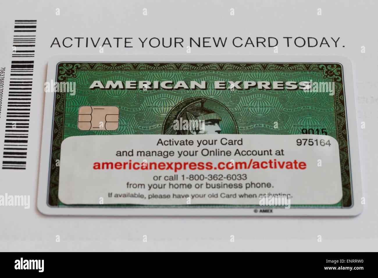 Novo carto american express com informaes de ativao eua foto novo carto american express com informaes de ativao eua reheart Choice Image