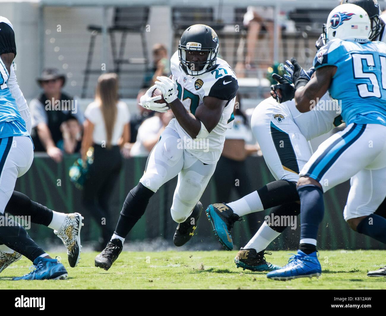 Jacksonville, FL, Estados Unidos Da América. 17 Set, 2017. Jacksonville  Jaguars