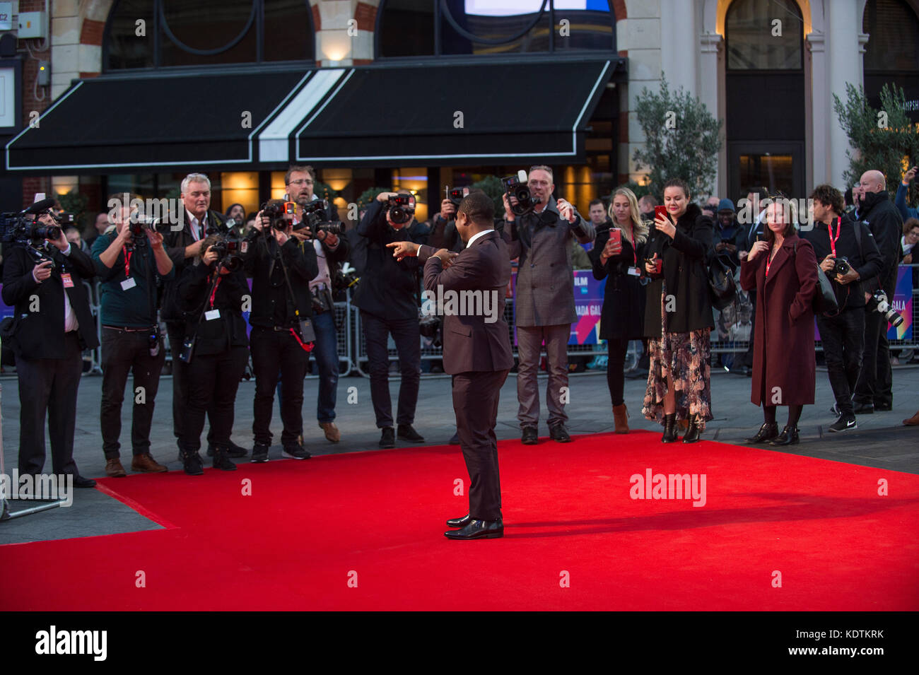 """Udbound"" união premiere - 61ª BFI London Film Festival Imagens de Stock"