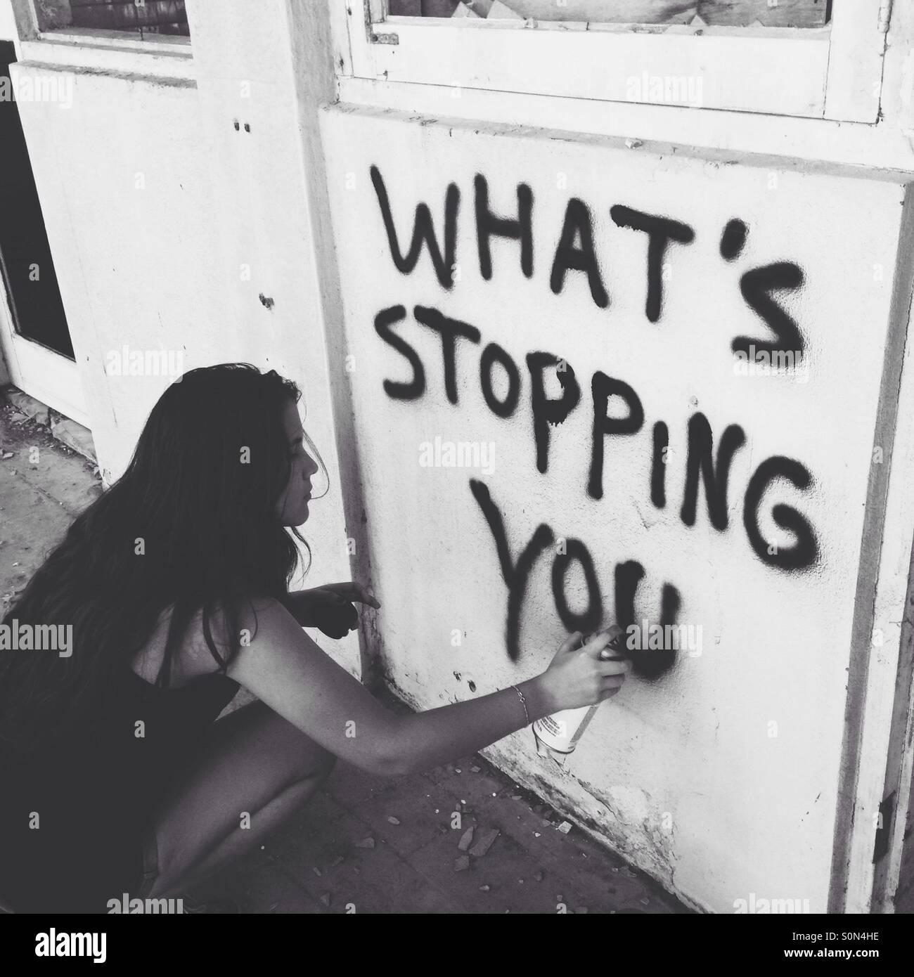 Grafite Imagens de Stock