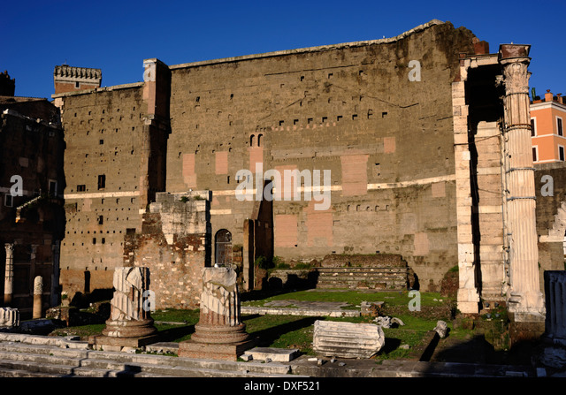 a history and meaning of the temple of mars ultor in the forum of augustus in rome The forum augustum with its temple of mars ultor was the supreme mid 19 bc and probably after augustus' return to rome on 12 october 19 (pp in my view, the parallel was originated not by augustus himself but by.