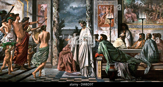 an analysis of the socrates and his acceptance of fate in the ancient greece Symposium by plato summary and analysis of introductory dialogue and the speech of one of his slaves to fetch socrates symposium and ancient greece.