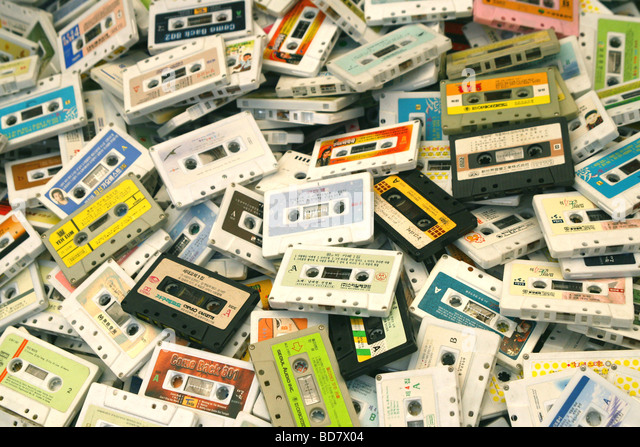 a-pile-of-old-audio-cassette-tapes-in-a-