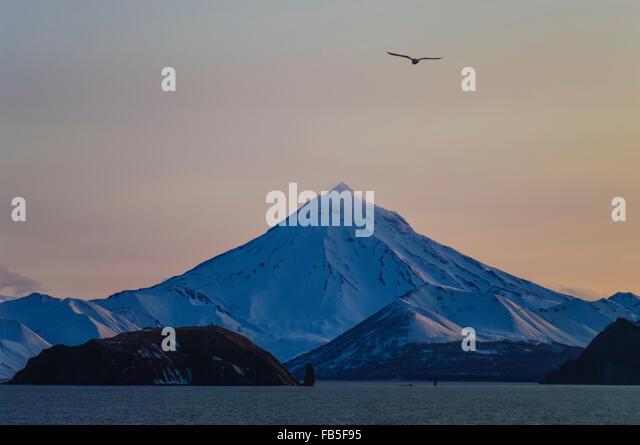 snow-covered-vilyuchik-volcano-in-dusk-s