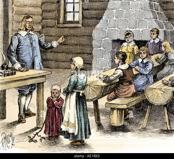 the puritan society in the new england in 17th century Puritan women's rights in puritan society the authority of the established church of england so the puritans left to seek a new life in america — to.