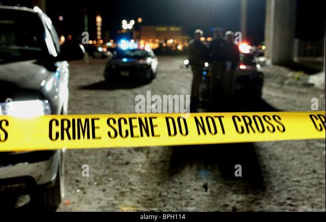 being a crime scene investigator