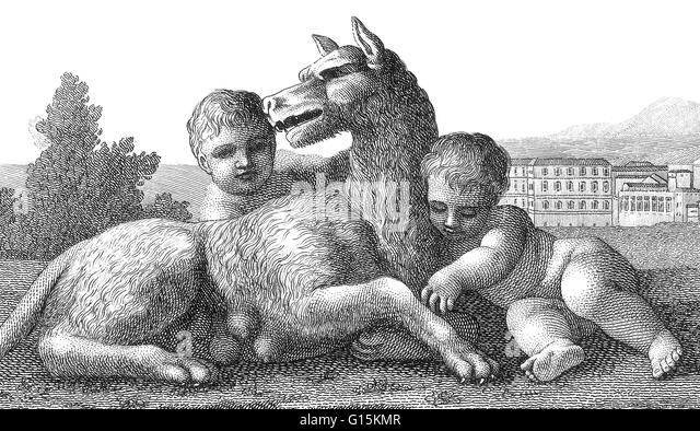 an overview of the mythology of romulus and remus
