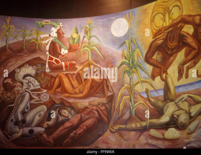 mayan creation myth The maya creation story by gene fernandez people of all times and places have sought to understand how the universe came into being and how humanity developed.