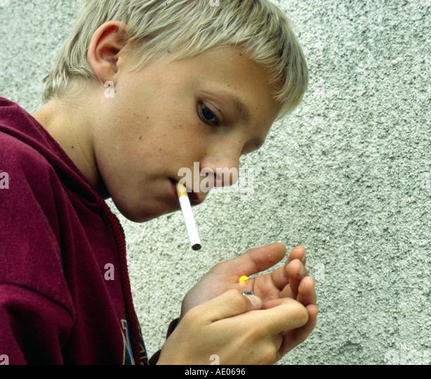 under age smoking