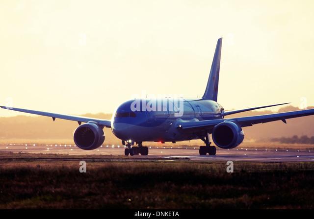 Thomson Airways Boeing 787-8 Dreamliner at London Gatwick Airport, England, UK. - Stock Image