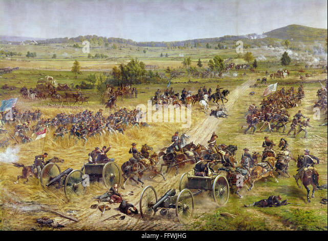 a history of the battle of gettysburg