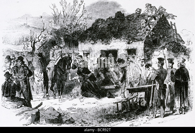 the history of the irish potato famine of 1840s