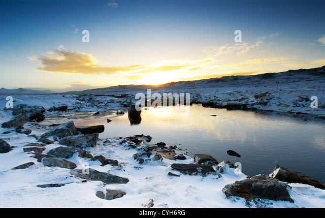 Moody Brook in the Falkland Islands - Stock Image