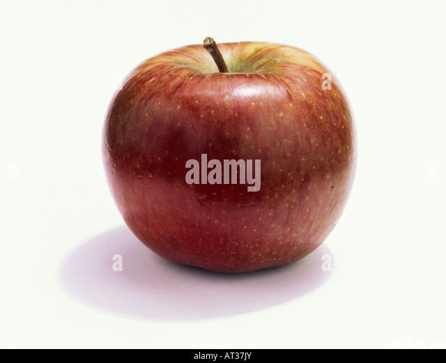 A red apple - Stock Image