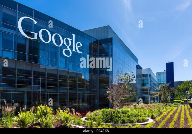 Google Head Office Campus, Mountain View, Californias, USA - Stock Image